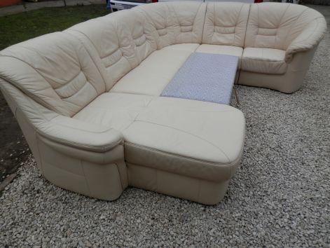 Bőr sarok ülőgarnitúra,kanapé,fix-ágyazható (a már eladottak)